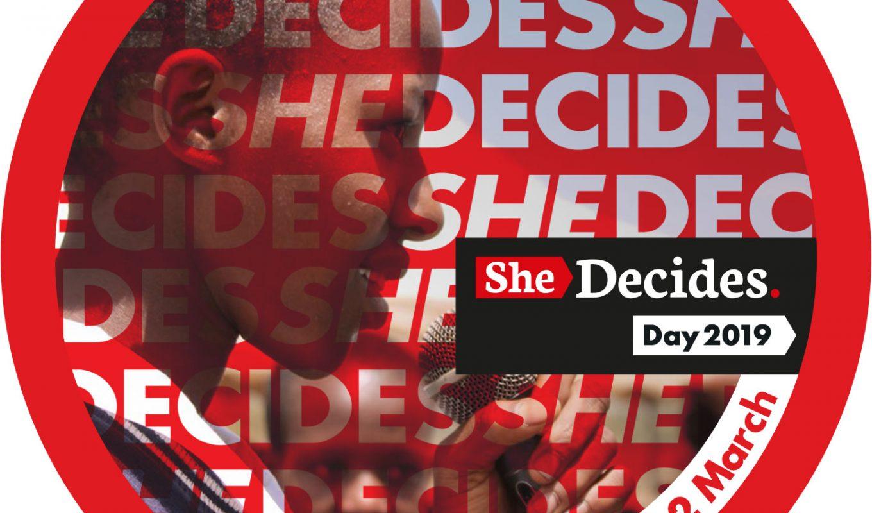 SheDecides dag 2019:  Meer aandacht voor de positie en de keuzevrijheid van vrouwen