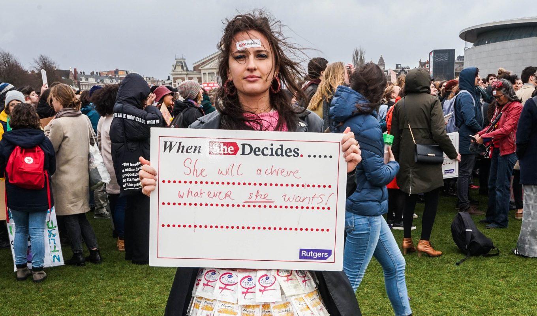 Women's March: moment van reflectie en hoop