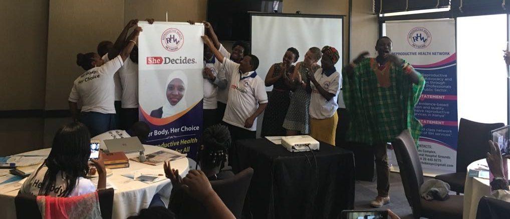 Zo werd jouw gift in 2018 besteed: jaarverslag Reproductive Health Network Kenya gepubliceerd